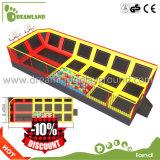 Trampoline seguro popular do aço inoxidável ao ar livre para miúdos