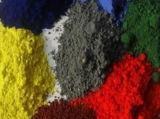 Pigmento materias químicas Fe2O3 marrón óxido de hierro