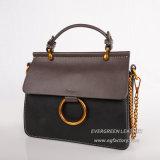 Le créateur de mode en cuir sac à main d'embrayage de PU de broderie pour dames (SH481)