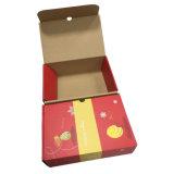 Красный фантазии Дизайн структуры гофрированный глянцевая подарочной упаковки