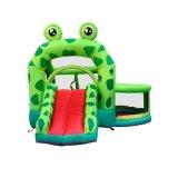 Лягушка надувные прыжком Bouncer дом упругие замок для детей