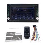 Double écran tactile DIN Bluetooth DVD/CD/MP3/USB/SD //autoradio FM 6.2 pouces moniteur LCD numérique télécommande sans fil