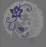 Menina Afro Rhinestone personalizado Design de transferência no comércio por grosso