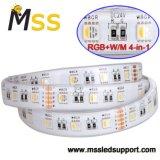 Fita LED de alta luminosidade RGBW 5050 Fita LED SMD 24V