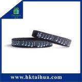 Wristband promozionale della gomma di silicone di simbolo personale su ordinazione