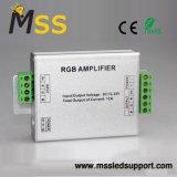 Braçadeira de Alumínio Amplificador RGB 12V~24V do amplificador de sinal LED Clip