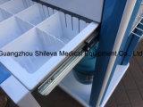 工場医学のトロリーを看護する直接ステンレス鋼のプラスチックおよび鋼鉄