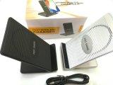 Qi inalámbrica rápida soporte de teléfono móvil con cargador de ventilador de refrigeración para el iPhone