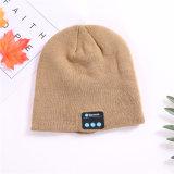 Bluetoothのだらしないニットの冬の帽子のヘッドホーンのヘッドセット音楽可聴周波ハンズフリー