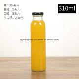 10 onças de vidro de xarope de suco de Bebidas Garrafa com tampa de encaixe de 38 mm