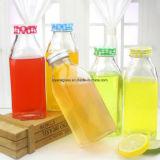 Alkoholfreie Getränke füllen mit Plastikschutzkappe ab