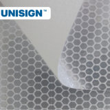 蜜蜂の巣の反射旗のビニールPVC明白な反射ビニール