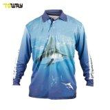 Camicia Da Pesca Dri Fit Traspirante Realizzata Su Misura