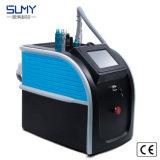 Equipamento de beleza estilo preto portátil ND YAG Laser Máquina de remoção de tatuagens
