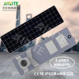 20With30With40With50With60With80With100With120W alle-in-Één/Licht van de Geïntegreerdeg Openlucht LEIDENE het ZonneTuin van de Straat met de Sensor van de Motie