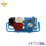 mini pistone portatile di 2.2kw 300bar 4500psi elettrico/benzina/raffreddamento ad aria diesel Pcp ad alta pressione Paintball/compressore d'aria respirante della pompa aria fuoco/di immersione con bombole