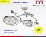 Lampada di funzionamento del supporto LED del soffitto chirurgica per le attrezzature mediche della clinica