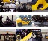 Alter Diesel-Gabelstapler der Marken-JAC