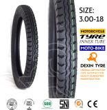 Motorrad-Motorrad-Reifen-Roller-Gummireifen-doppelte Zeile 3.00-18