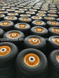 13 X5.00-6 Gratis plano de la rueda de goma suave con la banda de rodadura de los cortacéspedes comerciales de radio de giro cero
