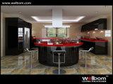 2017年のWelbomの光沢度の高いアクリルガラスの食器棚