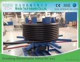 De enige PE van de Extruder van de Schroef HDPE PPR Lopende band van de Uitdrijving van de Pijp van pvc