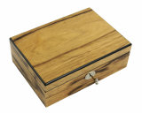 Contenitore di regalo di memoria dei monili di rivestimento di Pinao del palissandro/caso di legno