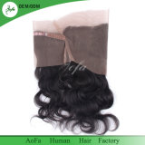 Body Wave Brazilian Hair 360 Lace Frontal Closure Natural Color