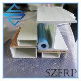 Tubo rettangolare di plastica della vetroresina FRP di rinforzo variopinto