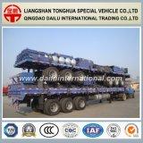De 3-assen van Ctsm 40FT de Op zwaar werk berekende Hoge Semi Aanhangwagen van de Omheining van de Zijwand