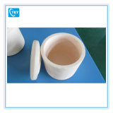 Crogiolo di ceramica dell'allumina Al2O3 di elevata purezza 99%