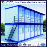 Huis van de Container van de manier het Ontwerp Geprefabriceerde voor Vakantie