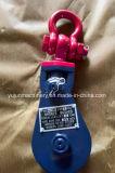 造られた手錠が付いているワイヤーロープのためのH419 Skookumの強奪ブロック