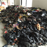 Zapatos usados venta al por mayor, zapatos de la segunda mano
