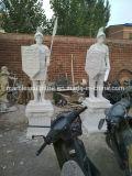 Het witte Marmeren Standbeeld van het Beeldhouwwerk van de Steen van Carrara (sy-lidstaten-041)