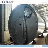 Caucho de 15 toneladas que recicla a la máquina del aceite de la pirolisis