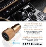 Быстро поручая франтовские электрические AC12-24V удваивают сотовый телефон USB заряжателя автомобиля USB с Qualcomm 3.0
