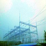 500кв угол стальной передача мощности подстанции архитектуры