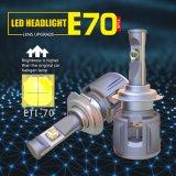 Ce/RoHS/IP68 E70 H7 LED車のヘッドライトの高性能LED自動ヘッドランプ