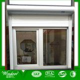 Prix bon marché de la fenêtre à battant en PVC avec volet roulant