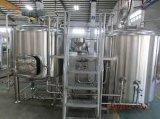 2000Lステンレス鋼ビールビール醸造所装置の円錐発酵タンク