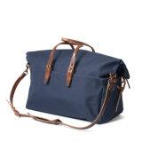 ビジネスのための低価格の良質の濃紺のキャンバスの週末旅行袋