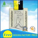 제조자 주문 아연 합금은 주물 기념품 스포츠 금속 메달을 정지한다
