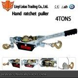 2tons高品質手のラチェットの引き手ケーブルの引き手