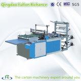 Automático de alta eficiencia de la bolsa de camiseta Courier Bag Making Machine en China