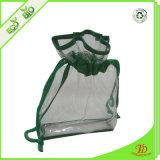 プラスチックPVC明確なドローストリングは袋を構成する