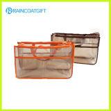 透過PVC挿入整頓された旅行装飾的な袋のオルガナイザーRbc-036