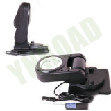 indicatore luminoso senza fili di ricerca di telecomando LED di 45W 7inch con l'anello di guidacarta per caccia