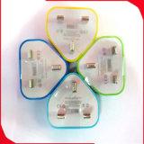 Handy-Zubehör-Gerät-BRITISCHE Stecker-Arbeitsweg-Wand-Aufladeeinheit für iPhone