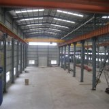 Gruppo di lavoro certo della struttura d'acciaio, magazzino, disegno di costruzione e fabbricazione